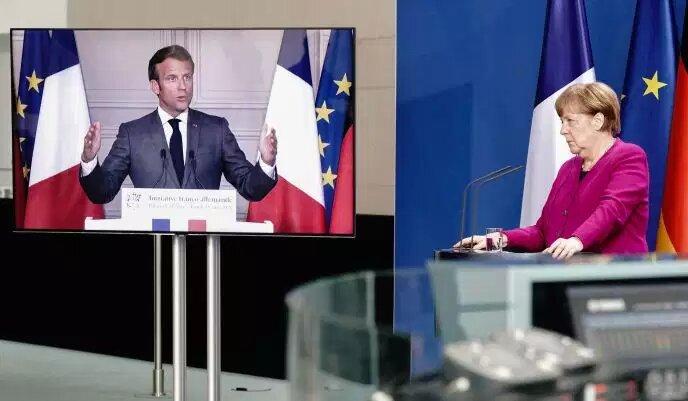 Le plan solidaire de Macron et Merkel pour l'Europe face aux réticences des pays « frugaux