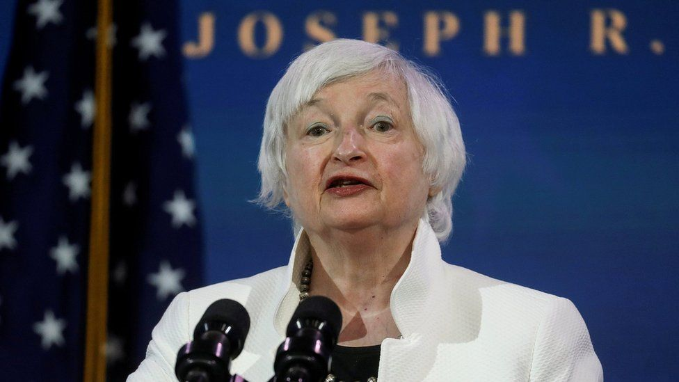 Biden economic plans challenged at Yellen hearing