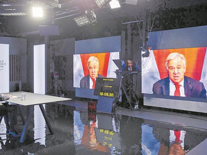 Recuperación, el eje en las discusiones del Foro de Davos