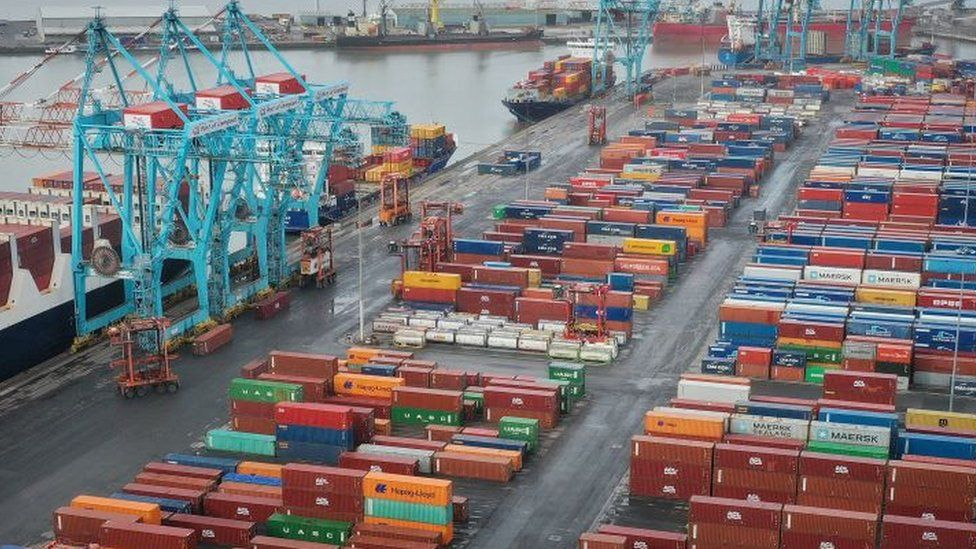 UK exports to EU rebound partially after January's slump