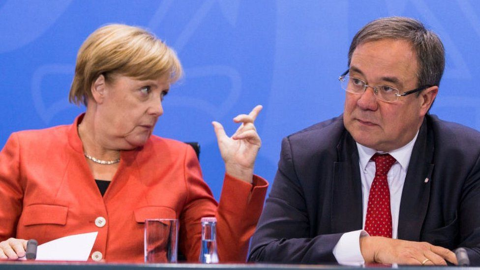 Who are the rivals to lead Germany after Chancellor Merkel?